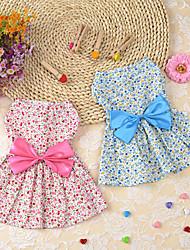 Chien Robe Smoking Vêtements pour Chien Hiver Eté Printemps/Automne PrincesseMignon Classique Mariage Anniversaire Vacances Mode