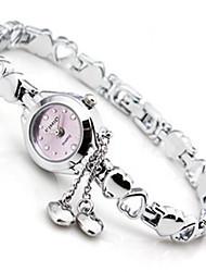 Mulheres Relógio de Moda Chinês Quartzo Lega Banda Prata