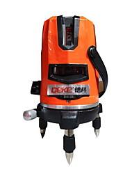 Deke® 2 lignes 650nm laser laser marquage instrument ligne de nivellement laser