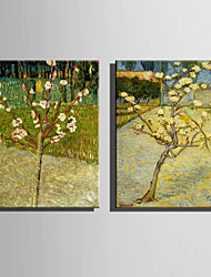 The Logicians Oil Painting Engraved Canvas Print Wall Art Vincent Van Gogh  3  Multi Style Selection