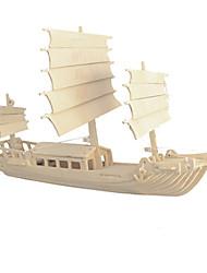 Jigsaw Puzzles 3D Puzzles Building Blocks DIY Toys Ship Wood Model & Building Toy