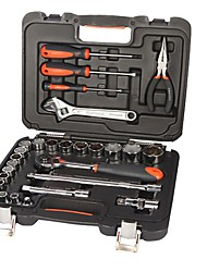 SHEFFLIED® S010028 28PCs Professional Homeowner's Wrench Tool Kit with Tool Box