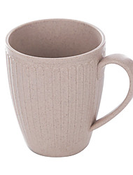 Natural Environmental Protection Cup Made By Wheat Straw   (Random colors)