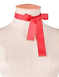 Жен. Ожерелья-бархатки Бижутерия В форме банта Ткань Базовый дизайн обожаемый По заказу покупателя Euramerican Простой стиль Мода