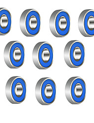608R 21mm x 7mm Metal Shielded Radial Ball Bearings Deep Groove Ball Bearings for Fidget Spinner Toy---10 pcs