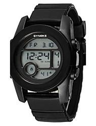 Masculino Relógio de Moda Relogio digital Digital Silicone Banda Preta Azul Roxa