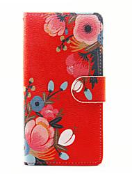 Для sony xperia x xa case cover the flowers pattern pu кожаные чехлы для xperia m4 aqua