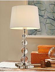 60 Cristal Moderna Artistíco Simples Luminária de Mesa , Característica para Cristal Decorativa , com Usar Interruptor On/Off Em Linha