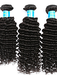 Indian Deep Wave 3 Bundles Hair Weaves Unprocessed Virgin Human Hair Extensions Natural Human Hair Weave Vinsteen Hair Weft Extensions