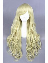 Light Yellow Curl Beautiful Lolita 32inch wig CS-126A