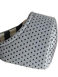 Dog Bed Pet Baskets Polka Dot Keep Warm Soft Durable Light Blue Blushing Pink Coffee Yellow Gray