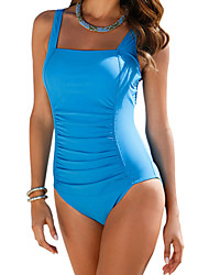 Ladies' Bandeau One-piece Solid Solid