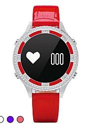 Mulheres Relógio Inteligente Relógio de Moda Relógio de Pulso Simulado Diamante Relógio Chinês DigitalLED Controle Remoto Monitor de