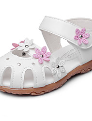 Girls' Sandals Comfort Leatherette Summer Fall Wedding Outdoor Office & Career Party & Evening Dress Casual Bowknot Applique Magic Tape