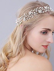 Pearl Headpiece-Wedding Special Occasion Tiaras Headbands 1 Piece