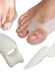 1pair føtter omsorg tå separator big toe bein bunion skjold hallux valgus splint spreader protector corrector