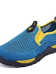 Boys' Athletic Shoes Comfort Tulle Summer Casual Walking Hook & Loop Flat Heel White 2in-2 3/4in