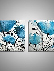 Handmade Oil Painting Flower Wall Art Home Decor Stretched Framed Ready To Hang