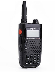 Tyt tytera th-uv6r 256ch vhfuhf 8 groupe scrambler fm radio double bande affichage portable radio