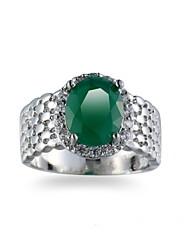 Männer Ring Smaragd einzigartigen Design euramerican Mode Smaragd Legierung Schmuckschmuck 147 Hochzeit besonderen Anlass Jubiläum