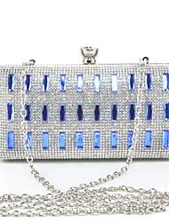 Metall Glitter Druckknopf Blau Gold Silber