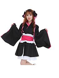 Costumes Cosplay Robes Casque Plus d'accessoires Inspiré par Cosplay Cosplay Manga Accessoires de Cosplay Robes Ceinture Coiffures Ruban