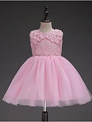 Ball Gown Knee Length Flower Girl Dress
