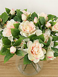 1  Bunch French romanti and fresh imitation gardenias fresh imitation gardenias