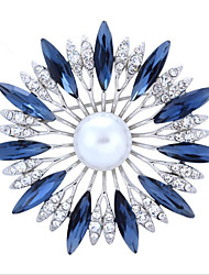 Sun-Flower Yakeli Badge With The High Fashion Beaded Pin