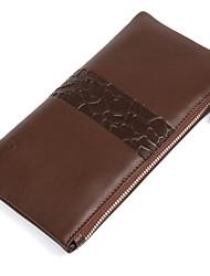 Fashion Genuine leather Wallets Men Clutch Bags Mini Cowhide Coin Pocket Men Purse Casual Phone Case D1015