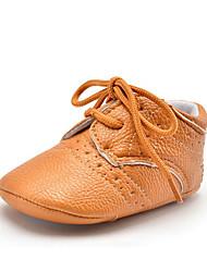 Niños Bebé Zapatos de taco bajo y Slip-Ons Primeros Pasos Sintético Otoño Invierno Casual Vestido Fiesta y Noche Primeros Pasos Con Cordón