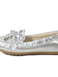 Для женщин Мокасины и Свитер Удобная обувь Светодиодные подошвы Ткань Микроволокно Весна Лето ПовседневныеУдобная обувь Светодиодные