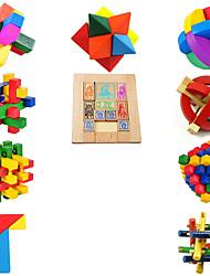 Brinquedo Educativo Kong Ming bloqueio Hobbies de Lazer Madeira 5 a 7 Anos 8 a 13 Anos 14 Anos ou Mais