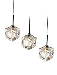 3pcs/lot Led Pendant Light  Modern/Contemporary Led G4 Bulb Included/ Dinning Room Coffee Bar Office Light