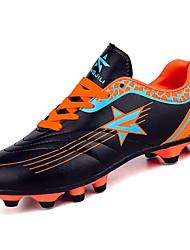 Boys' Athletic Shoes Comfort PU Spring Summer Casual Low Heel Green Orange Under 1in