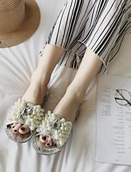 Women's Sandals Summer Slingback PU Casual Fuchsia