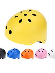 Unisexe Casque Ajustable Multifonction Équipement de protection Skateboarding Helmet Casque de Trottinette Roller SkateboardFibre de