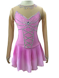 Robe de Patinage Patinage Jupes & Robes Robes Haute élasticité Robe de patinage artistique Spandex Tenue de Patinage