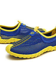 Boys' Athletic Shoes Light Up Shoes PU Spring Fall Casual Running Magic Tape Flat Heel Royal Blue Light Blue Red 2in-2 3/4in