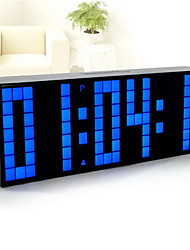 LED Bedroom Alarm Clock Mute Luminous Clock Bedside Clock