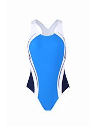 Mulheres Respirável 100% Poliéster Fato de Mergulho Sem Mangas Roupa de Banho-Praia Surfe Verão Clássico