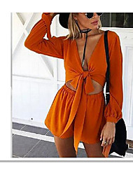Women's Going out Rompers,Simple Loose Fashion Summer
