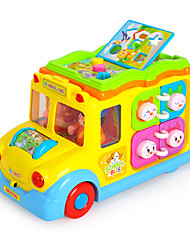Educational Toy Bus Plastics Kid