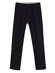 U&Shark Men's Business Casual&Fashion Straight Suit Pants with Dark Blue Color/YZXK-002