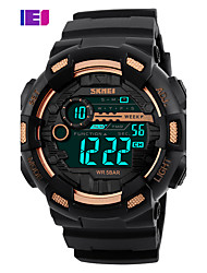SKMEI Sports Digital Wristwatches Both Time Clock Timing Alarm Back Light Waterproof Fashion Watches