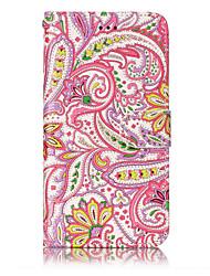 Pour huawei p10 lite p8 lite (2017) pu matériel en cuir poivre fleurs motif sacoche téléphone p10 plus p10 p9 lite p8 lite