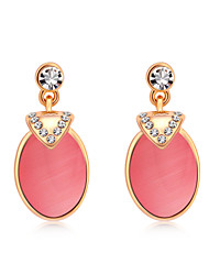 Women's Earrings Set Opal Unique Design Fashion Personalized Euramerican Gemstone Alloy Round Jewelry Jewelry ForWedding Party