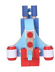 DIY KIT For Gift  Building Blocks Square Wood Toys