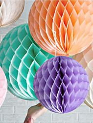 1pcs Size  6 Inch (15cm)Tissue Paper Honeycomb Balls Lanterns Poms Wedding Birthday Baby Shower Party Festival Home Decorations