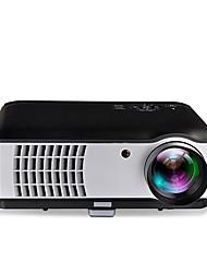 LCD WXGA (1280x800) Projetor,LED 2500 Alta Definição Capa Inclusa Auriculares Luz LED Clássico Não Disponível Projetor